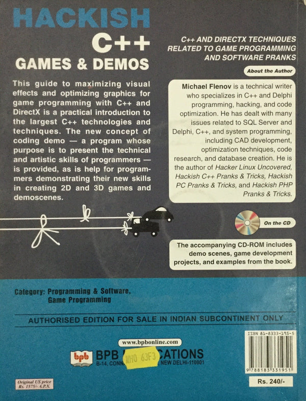 HACKISH C++ Games online books in india