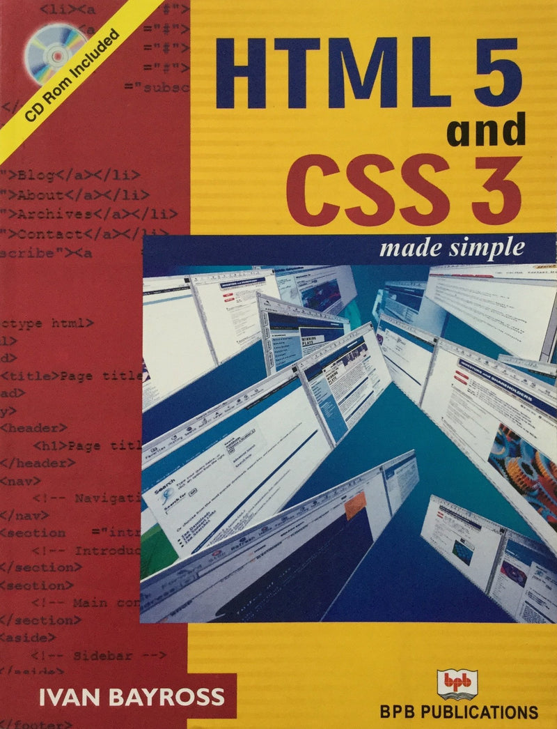 HTML5 and CSS3 Made Simple