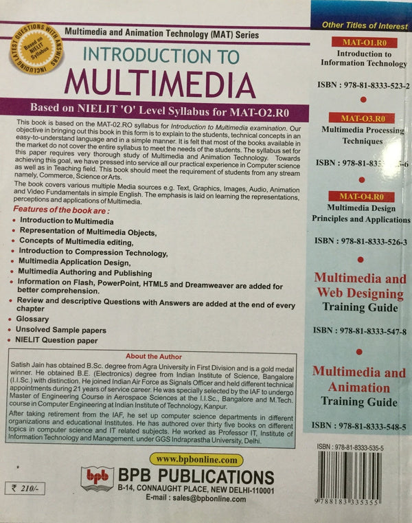 Introduction To Multimedia books