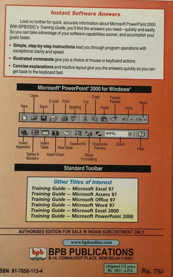 Microsoft Power Point 2000 books