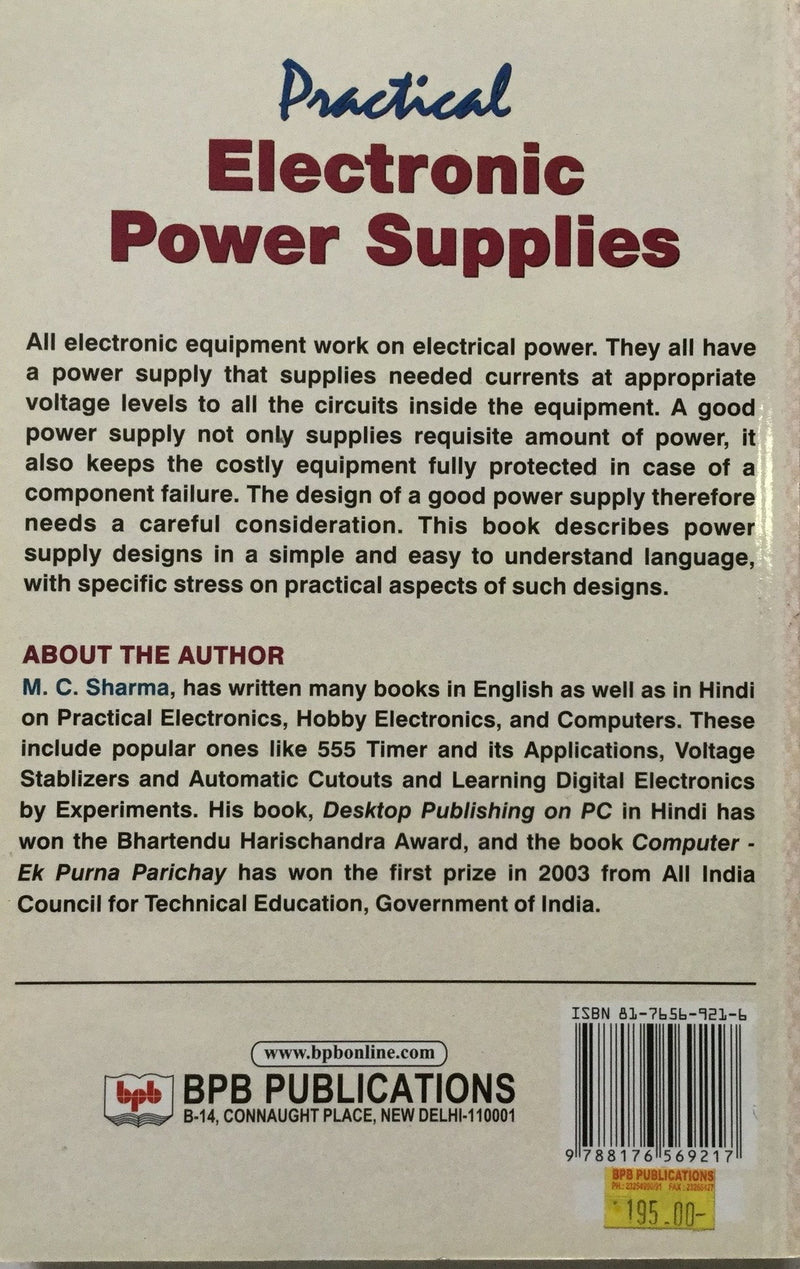 Practical Electronic Power Supplies books