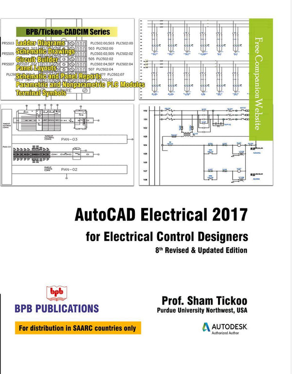 AutoCAD Elecrical 2017 for Electrical Control Designers