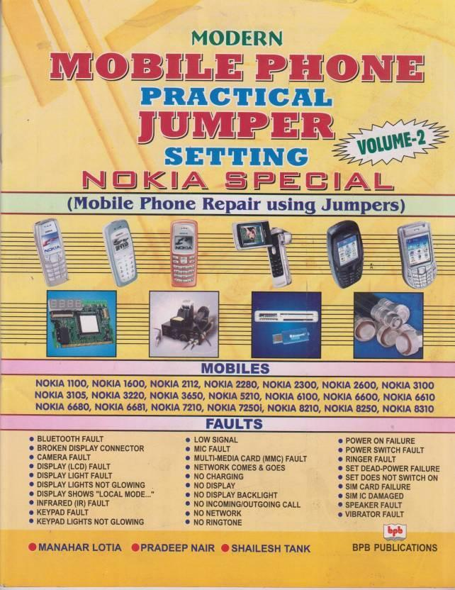 Modern Mobile Phone Practical Jumper Setting (Volume 2) 01 Edition