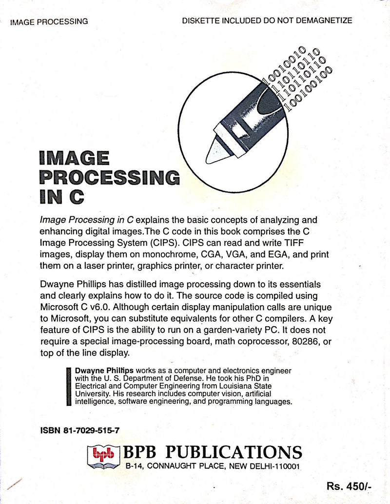 Image Processing In C