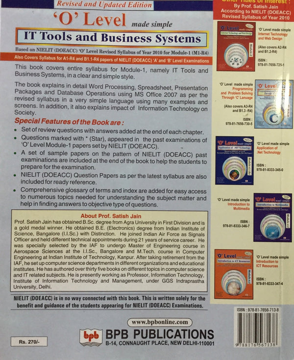IT Tools and Business Systems books