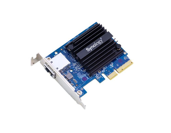 Synology E10G18-T1 10Gbe single Ethernet Adapter Card for RS3614xs+ , RS3614 (RP)xs , RS10613xs+ , RS3413xs+