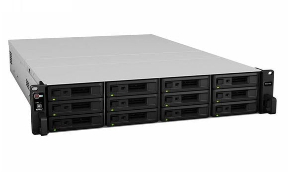 Synology Expansion Unit RX1217 12-Bay 3.5' Diskless NAS (2U Rack) (SMB/ENT) for Scalable NAS Models RS3617