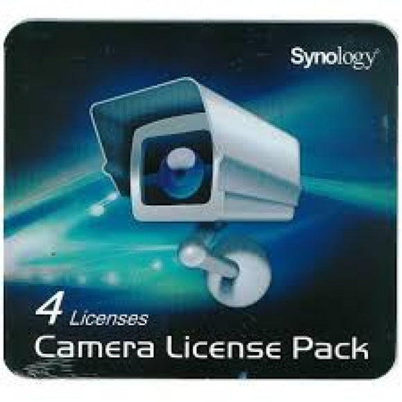 Synology SY60020 4 Pack Synology Surveillance Device License Pack