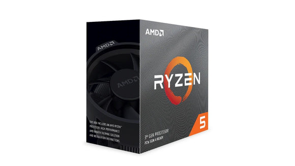 AMD Ryzen 5 3600X CPU 6 Core Wraith spire cooler (NO VGA)