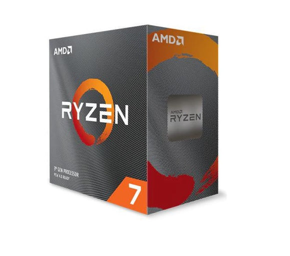 AMD Ryzen 7 3800XT, 8-Core/16 Threads, Max Freq 4.7GHz, 36MB Cache Socket AM4 105W, No Cooler