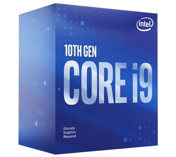 New Intel Core i9-10900F CPU 2.8GHz (5.2GHz Turbo) LGA1200 10th Gen 10-Cores 20-Threads 20MB 65W Graphic Card Required 630 Retail Box 3yrs Comet Lake
