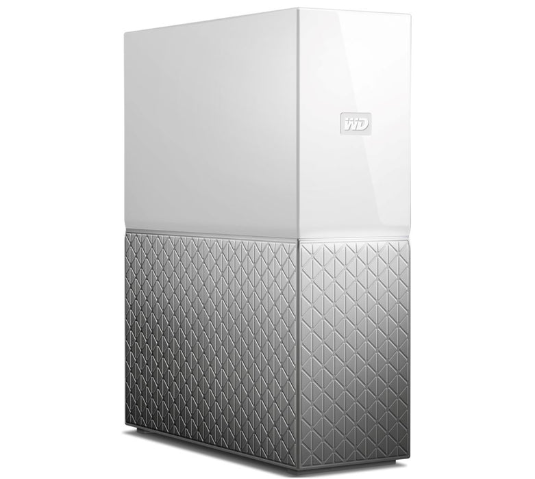 Western Digital WD My Cloud Home NAS 4TB Personal Cloud Storage 1xGigabit LAN 1xUSB3.0 iOS & Android Mobile Access Wireless Back Up & Sync Windows Mac