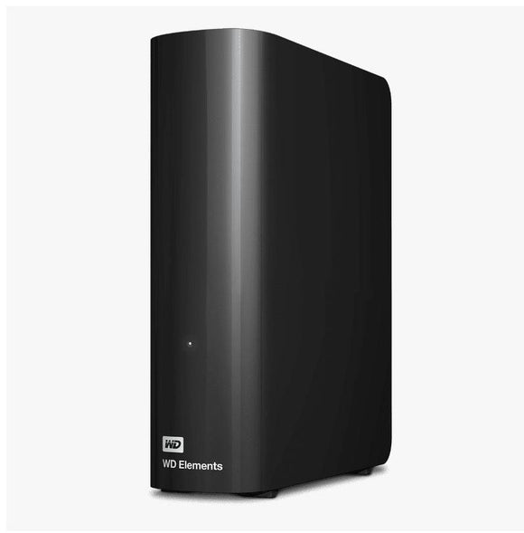 Western Digital WD Elements Desktop 8TB USB 3.0 3.5' External Hard Drive - Black Plug & Play Formatted NTFS for Windows 10/8.1/7