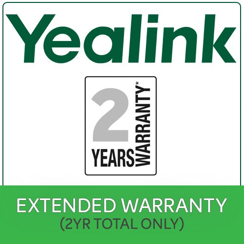 2 Years Extended Return To Base (RTB)  Yealink Warranty $50 Value