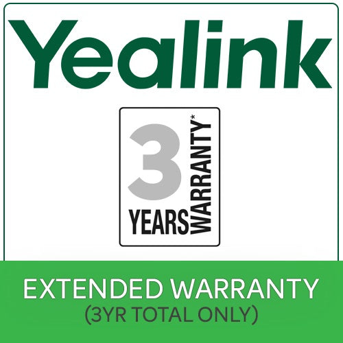 3 Years Extended Return To Base (RTB)  Yealink Warranty $50 value