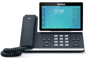Yealink T58A 16 Line IP HD Android Phone, 7' 1024 x 600 colour touch screen, HD voice, Dual Gig Ports, Built in Bluetooth and WiFi, USB, - SKYPE BUS