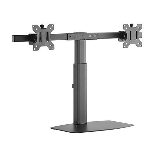 Brateck Dual Screen Pneumatic Vertical Lift Monitor Stand Fit Most 17'-27' Monitors Up to 6kg per screen
