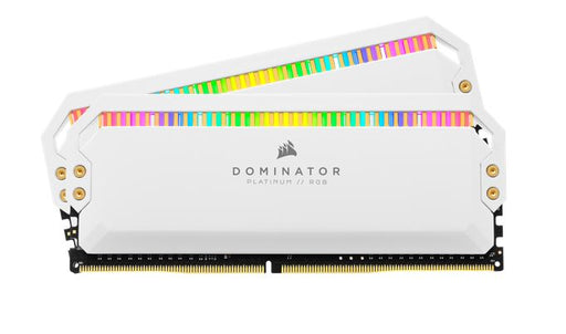 Corsair Dominator Platinum RGB 32GB (2x16GB) DDR4 4000MHz C19 1.35V DIMM XMP 2.0 White Heatspreaders Desktop PC Gaming Memory