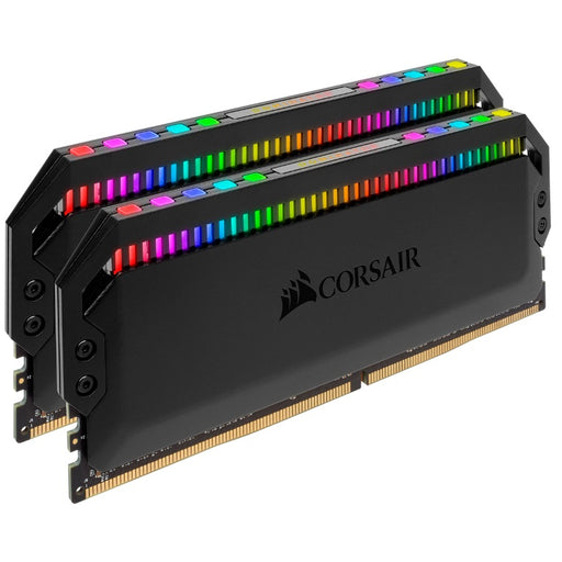 Corsair Dominator Platinum RGB 16GB (2x8GB) DDR4 4266MHz CL19 DIMM Unbuffered 19-26-26-46 XMP 2.0 Black Heatspreader 1.4V Desktop PC Gaming Memory