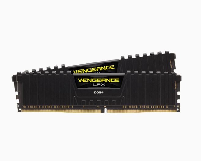 Corsair Vengeance LPX 64GB (2x32GB) DDR4 3000MHz C16 1.2V XMP 2.0 Black Desktop Gaming Memory