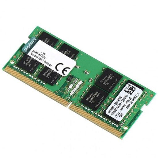 Kingston 8GB (1x8GB) DDR4 SODIMM 2400MHz CL17 1.2V Unbuffered ValueRAM Single Stick Notebook Laptop Memory