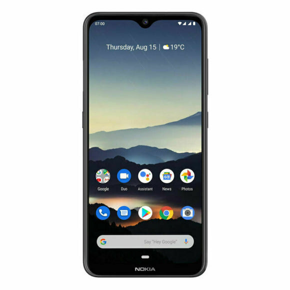 Nokia 7.2 Unlocked Smartphone 128GB Charcoal - 6.3' Screen, Tri Camera, 4GB RAM, 128GB Memory exp up to 512GB, Android 9 Pie, Octa Core Processor