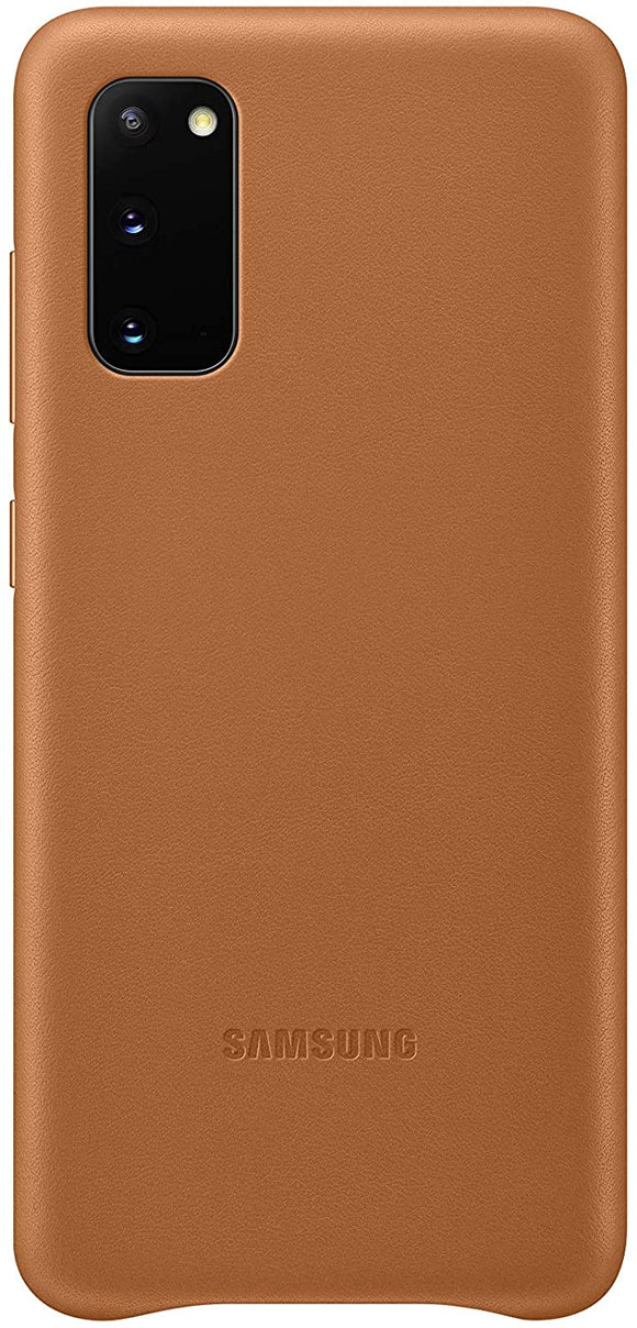 Samsung Galaxy S20 Ultra Leather Cover- Brown