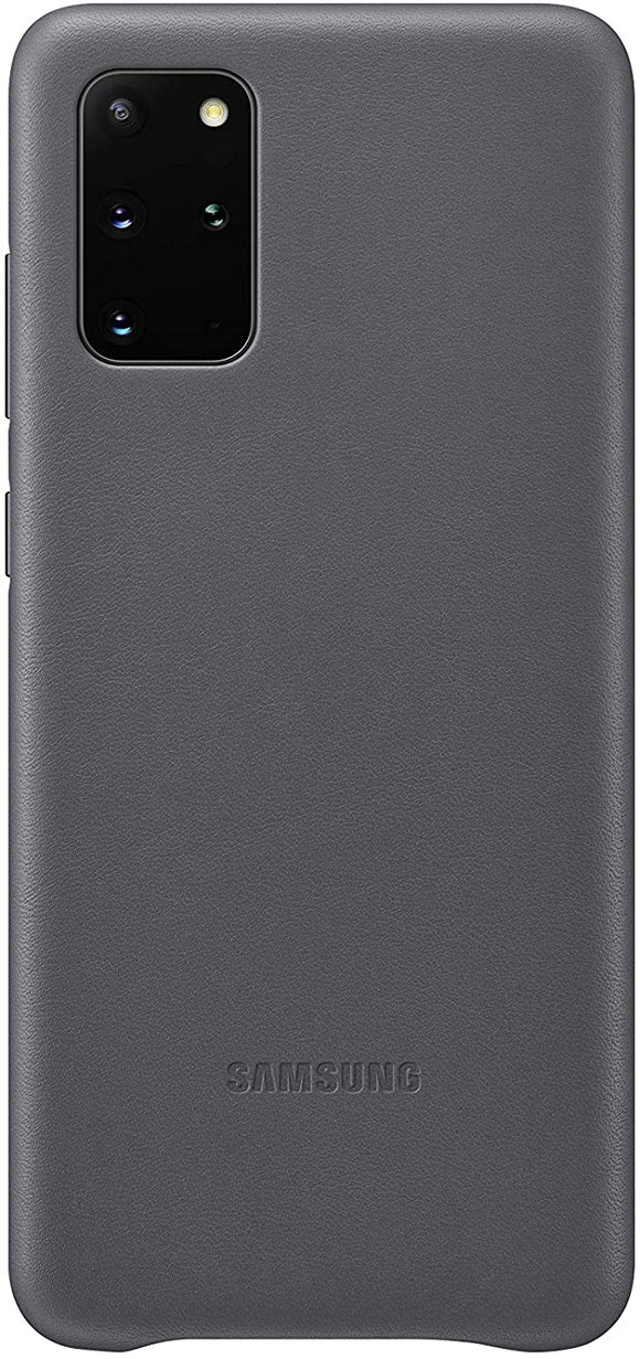 Samsung Galaxy S20 Ultra Leather Cover- Gray