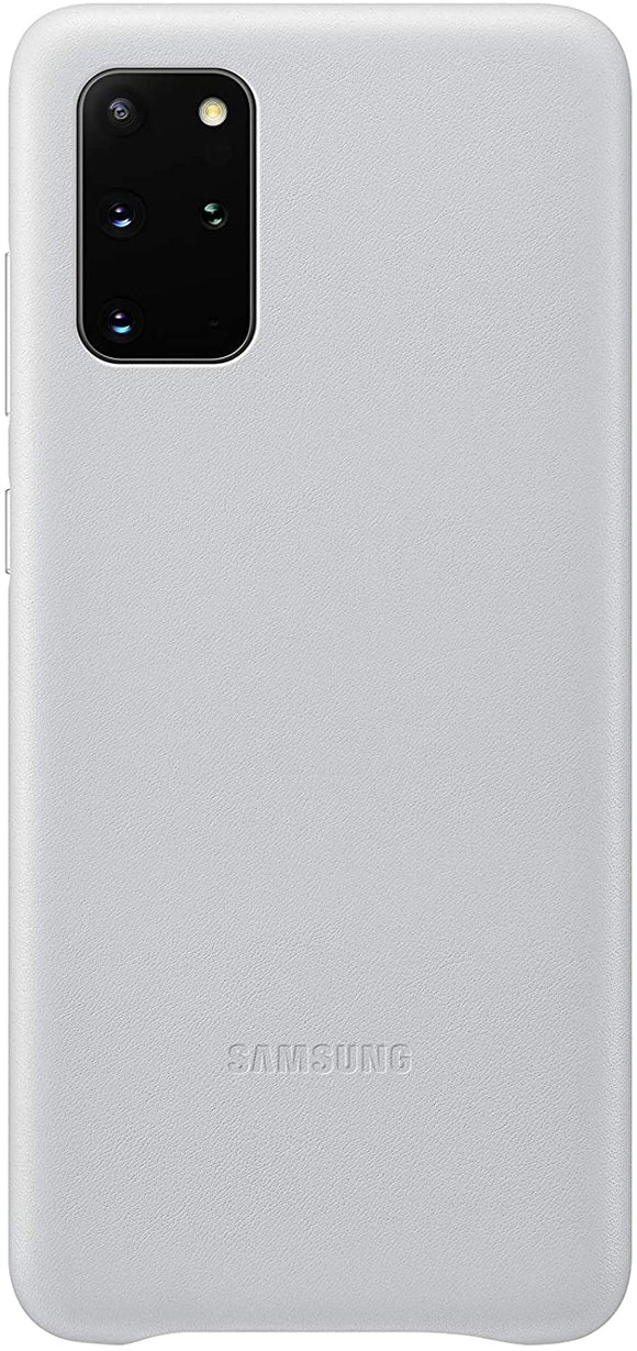 Samsung Galaxy S20 Ultra Leather Cover- Silver