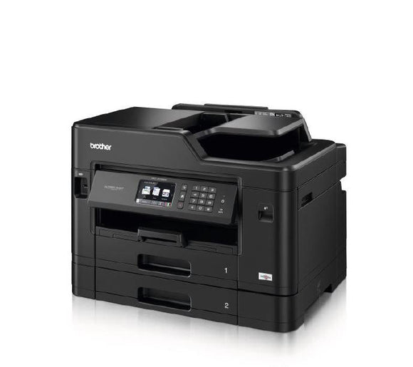 Brother J5730DW A3 Colour Inkjet MFC Wireless, 2nd Tray, 9.3cm Touch Screen, 1 Yr Warranty