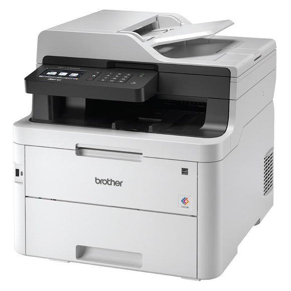 Brother MFC-L3770CDW Wireless Networkable Colour Laser MFC 24 ppm with 250 sheet capcity. LED, 2 Sided Printing and FAX. 12 Months Warranty