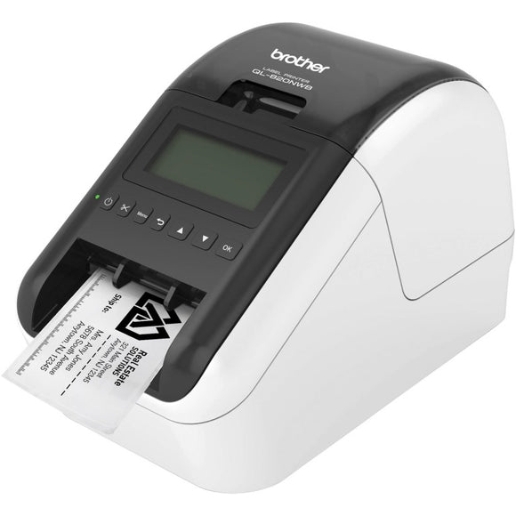 Brother QL-820NWB, Wireless Networkable Hig Speed Label Printer, upto 62mm, 1 Yr Warranty