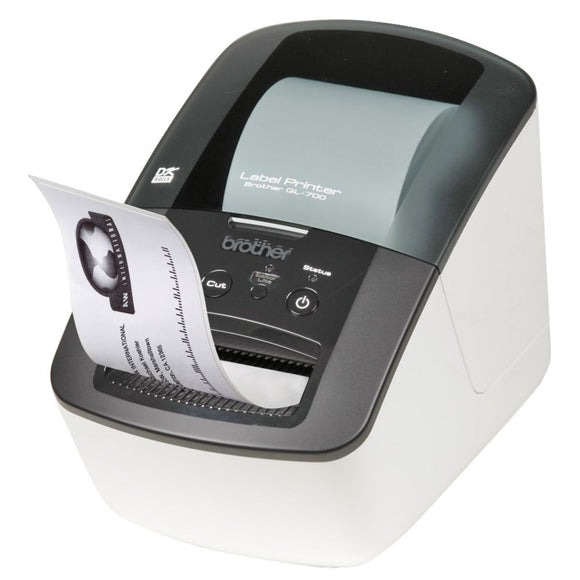 Brother QL-700 Professional Label Printer, 93 labels p/m, 3 Year Warranty