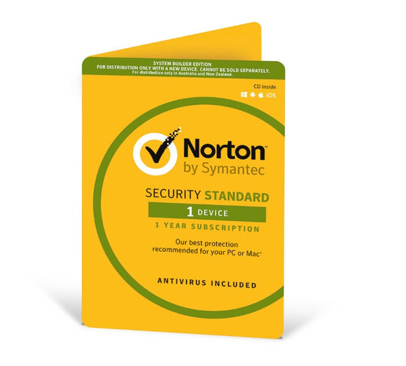 Symantec Norton Security Standard 1 Device 1 Year OEM