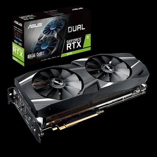 ASUS nVidia DUAL-RTX2070-8G GeForce RTX2070 8GB GDDR6 Graphics Card