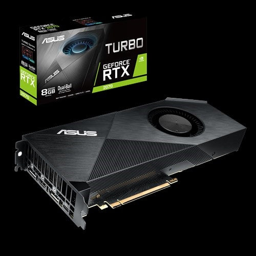 ASUS nVidia TURBO-RTX2070-8G GeForce RTX2070 8GB GDDR6 Graphics Card (LS)