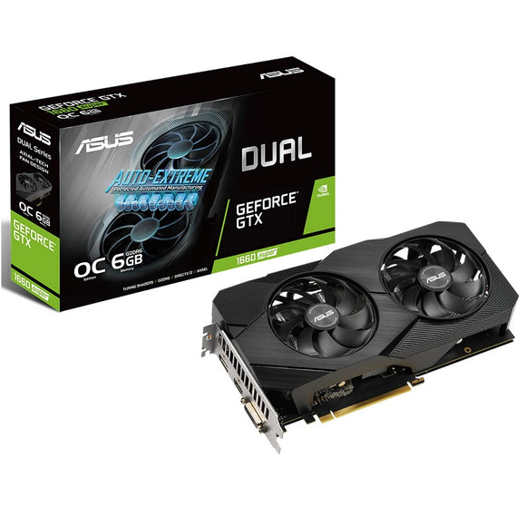Asus DUAL-GTX1660S-O6G-EVO GTX1660 Super video card