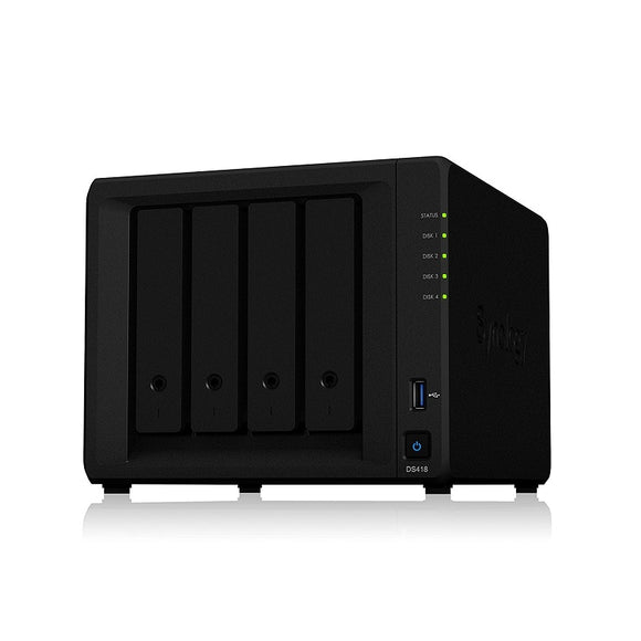 Synology DS418Play 4 Bay 3.5