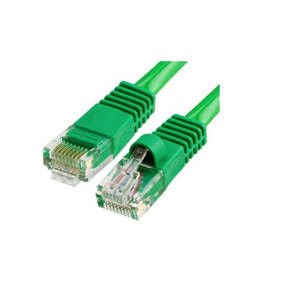 * GREEN * RJ45 UTP CAT 6 CABLE 1M