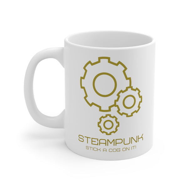 Stick A Cog On It Mug 11oz