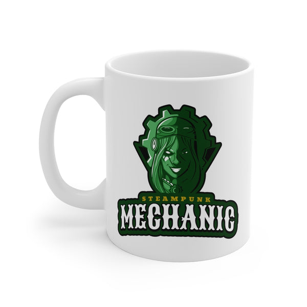 Steampunk Mechanic Mug 11oz