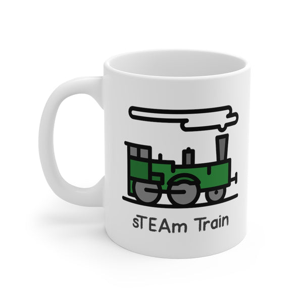 sTEAM Train Steampunk Mug
