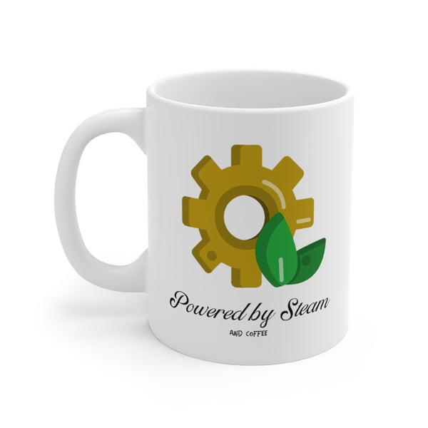 Powered by Steam Steampunk Mug