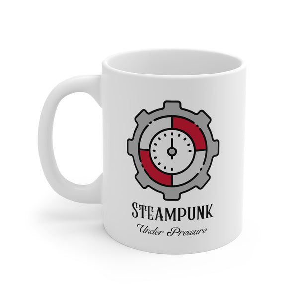 Steampunk Under Pressure Mug 11oz