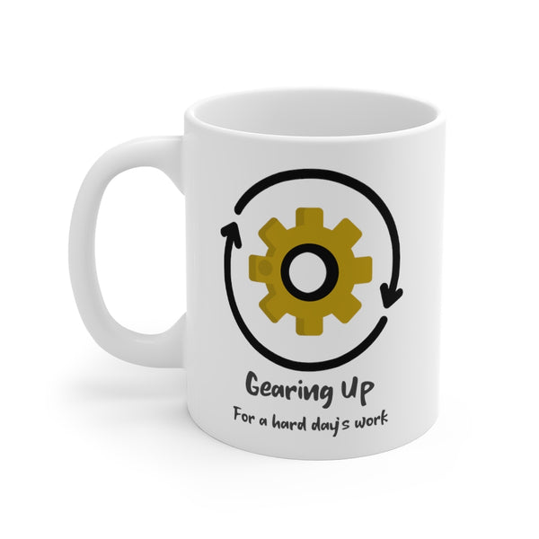 Gearing Up Steampunk Mug