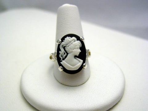Sterling Silver Cameo Ring Beautiful Creatures Lena Duchannes