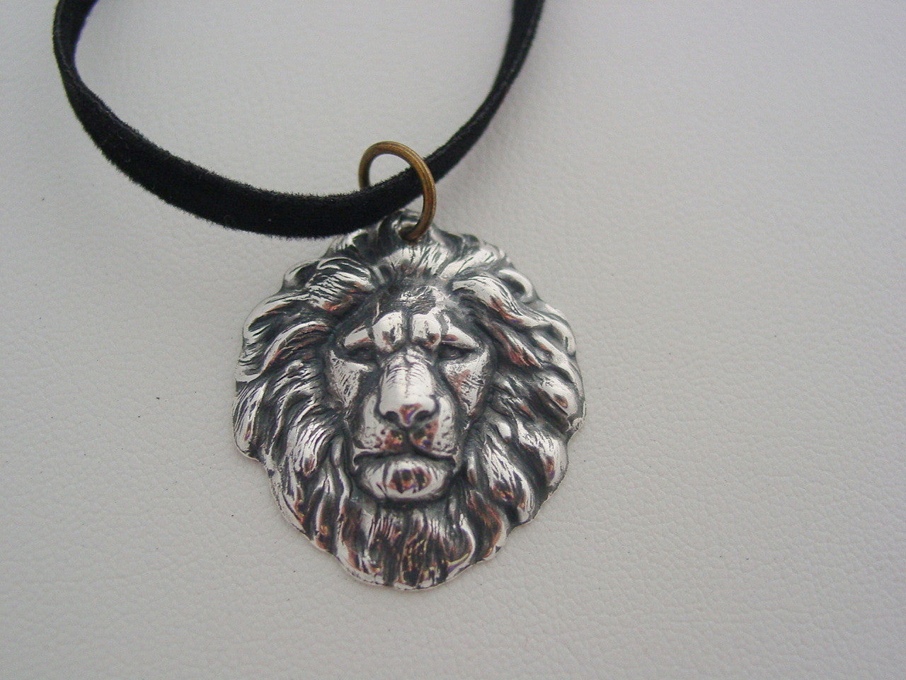 Witches of East End Freya's Silver Oxidized Finish Lion Talisman Necklace Witches of East End