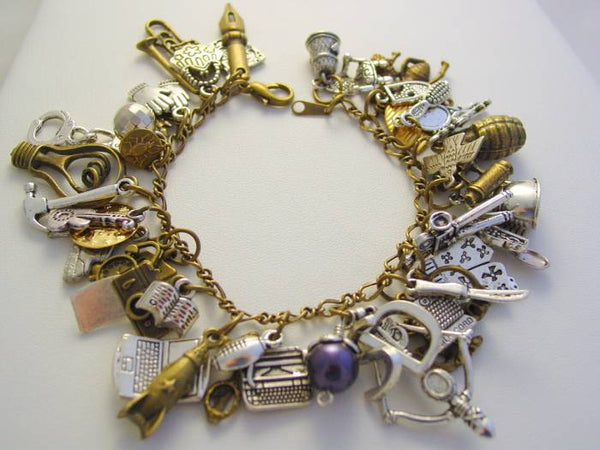 Warehouse 13 Charm Bracelet, Ultimate Artifact Charm Bracelet, 46 Artifact Charms
