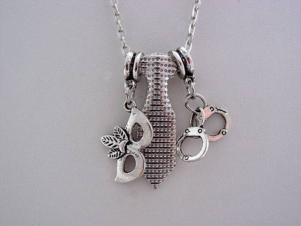 50 Fifty Shades of Grey Tie Mask Handcuffs Necklace
