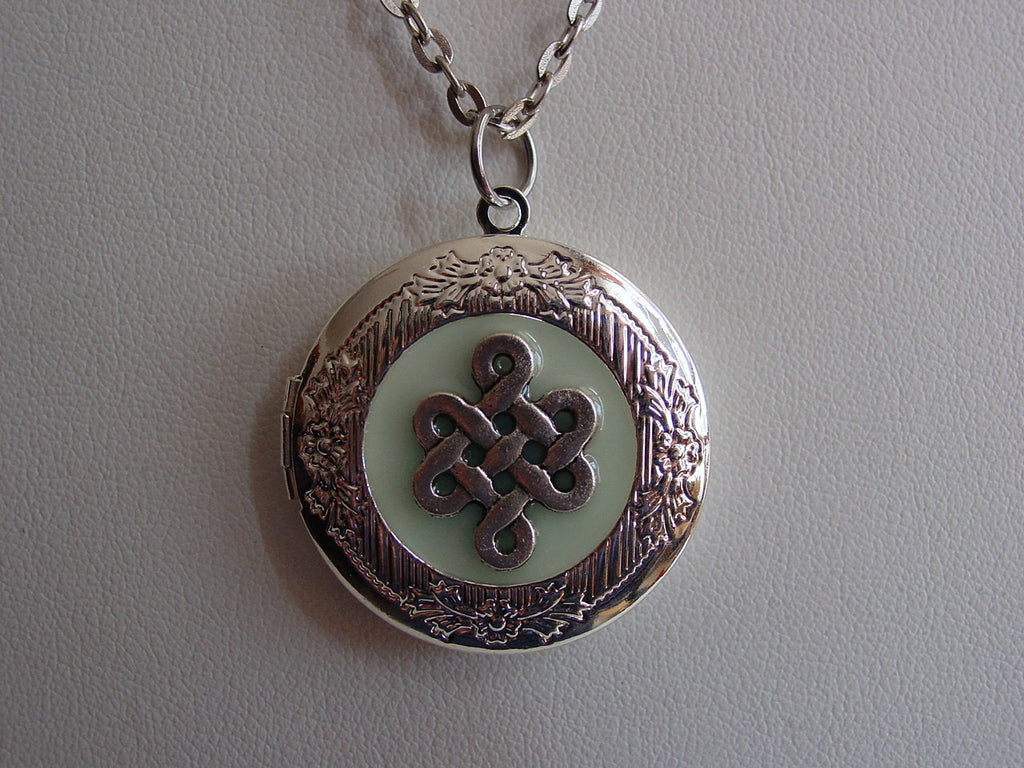 silver sterling number locket h l material style celtic lockets samuel heart webstore product flower jewellery